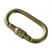 Carabiner Steel Oval Screw 108mm