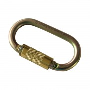 Carabiner Steel Oval Screw 3T 108mm